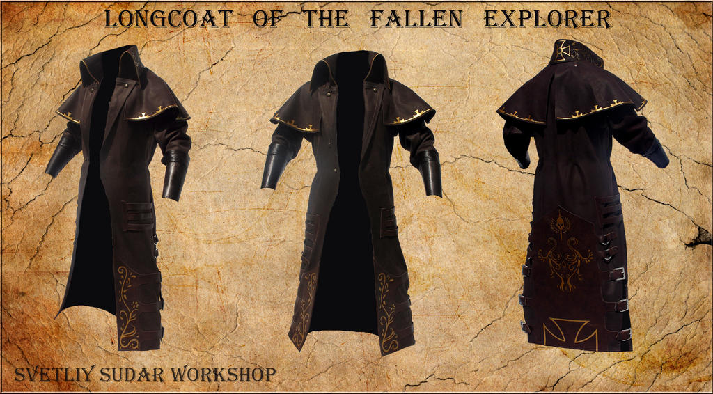 Longcoat of the Fallen Explorer by Svetliy-Sudar