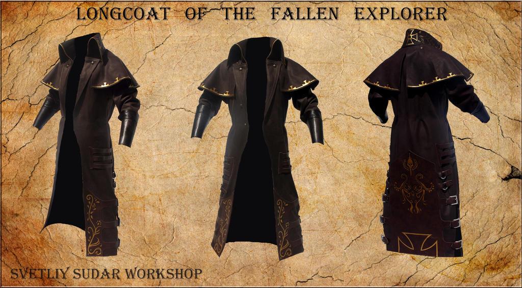 Longcoat of the Fallen Explorer by Svetliy-Sudar