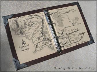 Notebook Middle Earth by Svetliy-Sudar