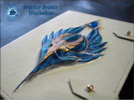 Leather Grimoire of the High Elves by Svetliy-Sudar