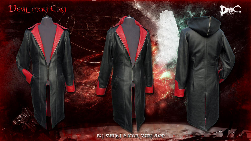 Leather Coat Dante (inspired DmC Devil May Cry) by Svetliy-Sudar