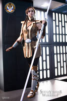 Jedi Grand Master Satele Shan Costume by Svetliy-Sudar