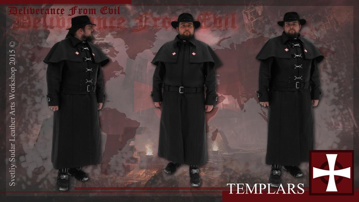 Raincoat of field investigator. Faction: templars. by Svetliy-Sudar