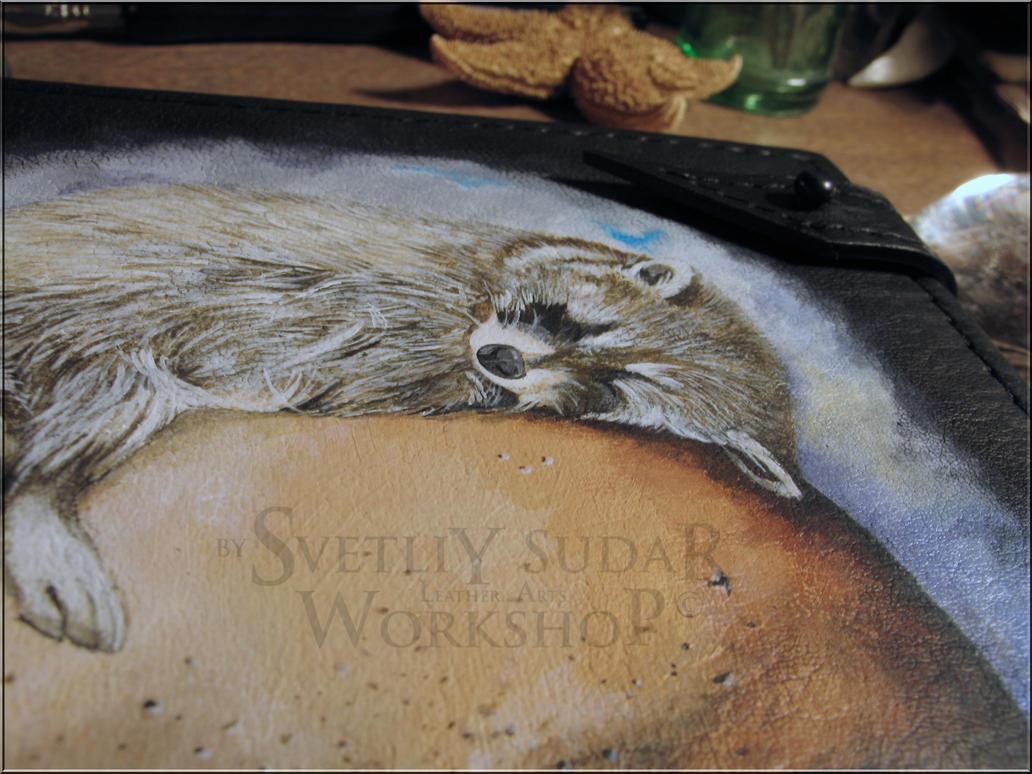 Leather Notebook Vanitas by Svetliy-Sudar