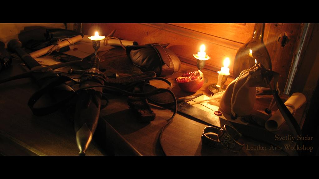 Night at the tavern by Svetliy-Sudar