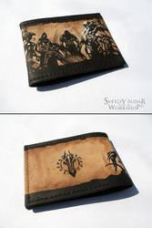 Leather cover Darksiders by Svetliy-Sudar