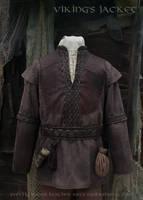 Viking Leather Jacket (inspired Ragnar Lothbrok) by Svetliy-Sudar