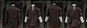 Viking Leather Jacket (inspired Ragnar Lothbrok)