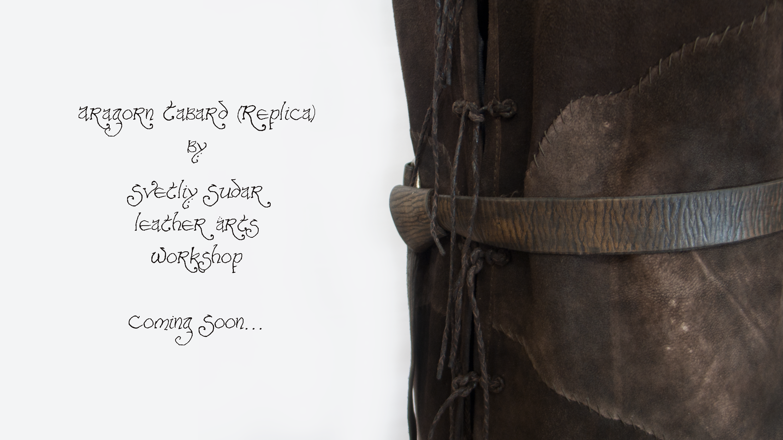 Aragorn tabard (replica) teaser by Svetliy-Sudar