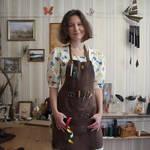The artist in the workshop by Svetliy-Sudar