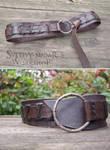 Viking Leather Belt (inspired Ragnar Lothbrok)