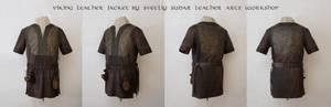 Ragnar Lothbrok Leather Jacket (replica) - Collage