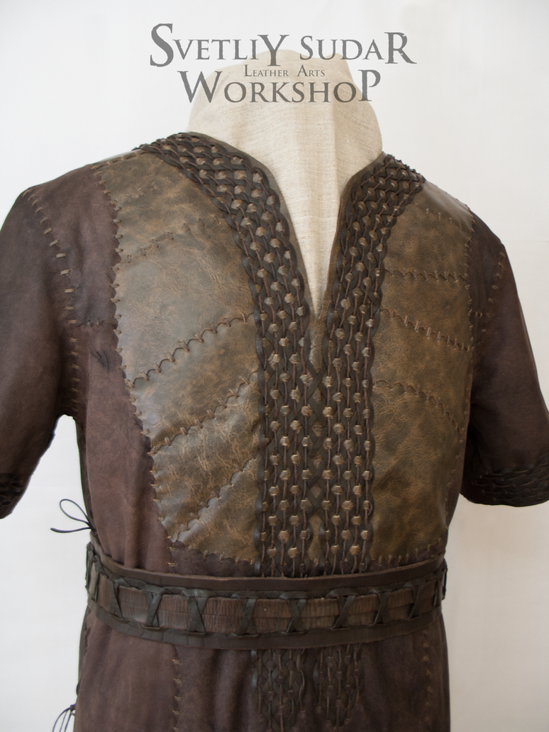 Ragnar Lothbrok Leather Jacket (replica) - Macro by Svetliy-Sudar