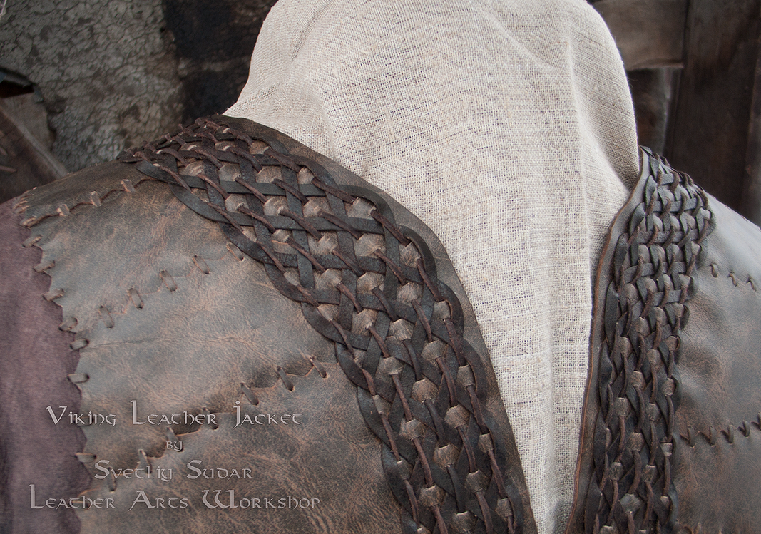 Ragnar Lothbrok Leather Jacket (replica) by Svetliy-Sudar
