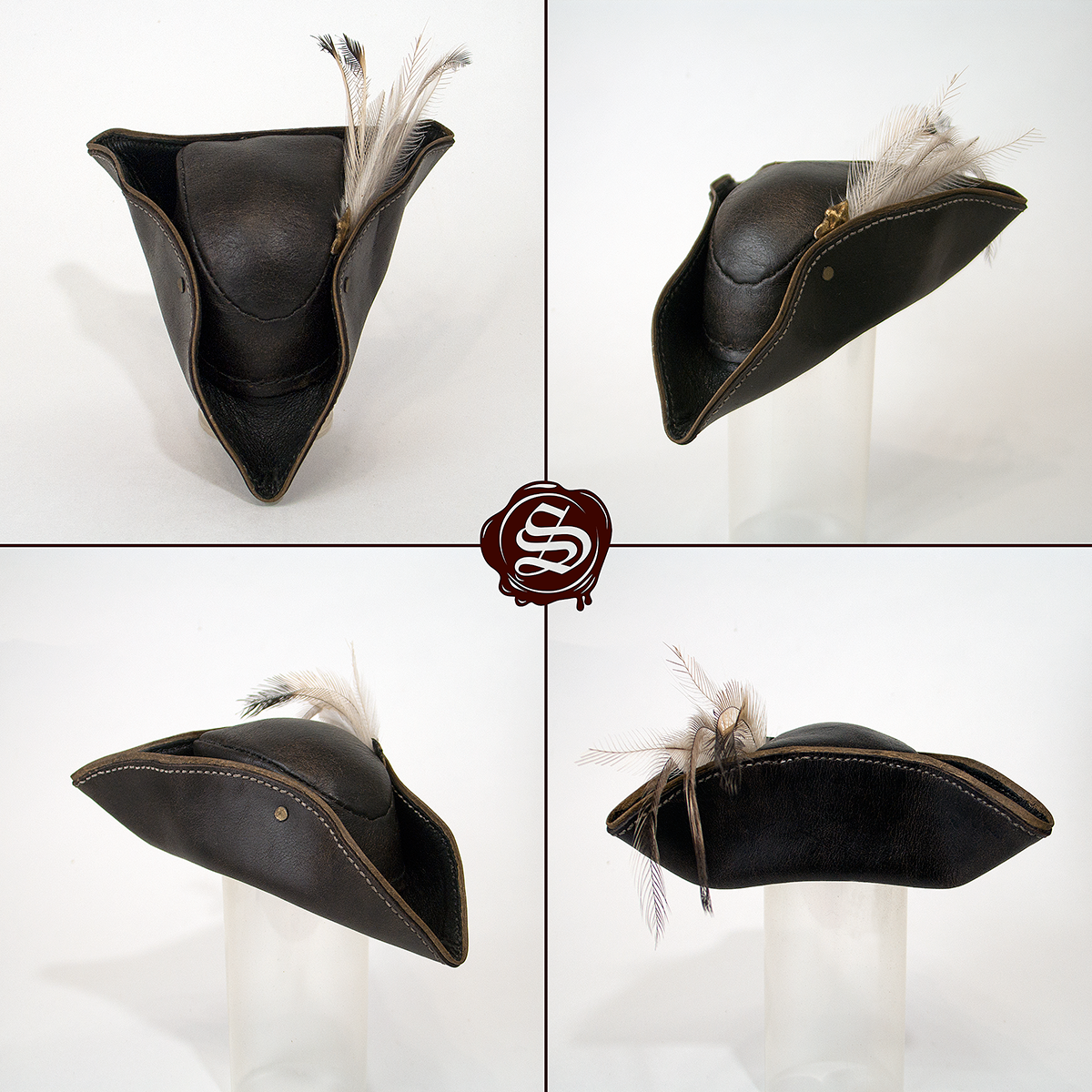 Bloodborne Lady Maria Leather Hat Replica By Svetliy Sudar On