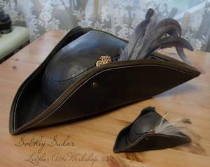 Bloodborne Lady Maria leather hat (replica)
