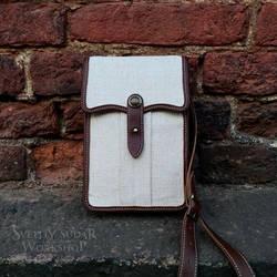 Small Travel Bag British India style