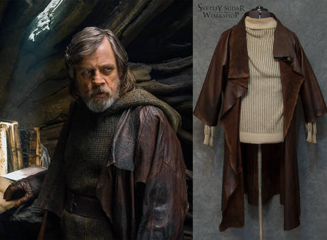 This Luke Skywalker leather jacket (replica)