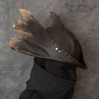 Leather Hat replica Inspired Bloodhunter