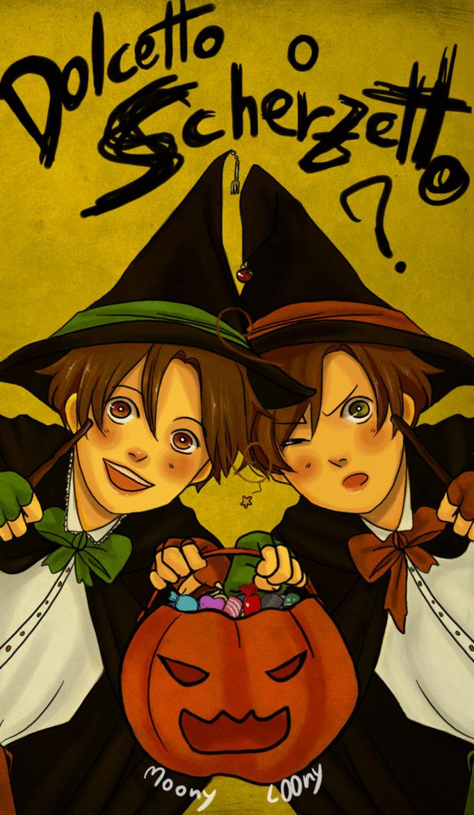 APH: Halloween 2011 by MoonyL00ny