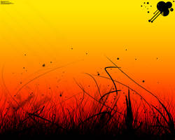 Sunset background by Laxxen