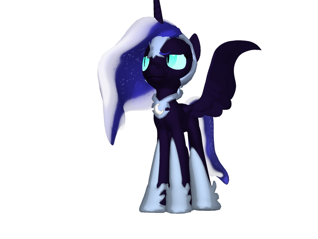 Nightmare Moon 3d Pony Creator By Princesswaifu On Deviantart