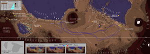Cavorite Mars Utopia Basin by IainFluff