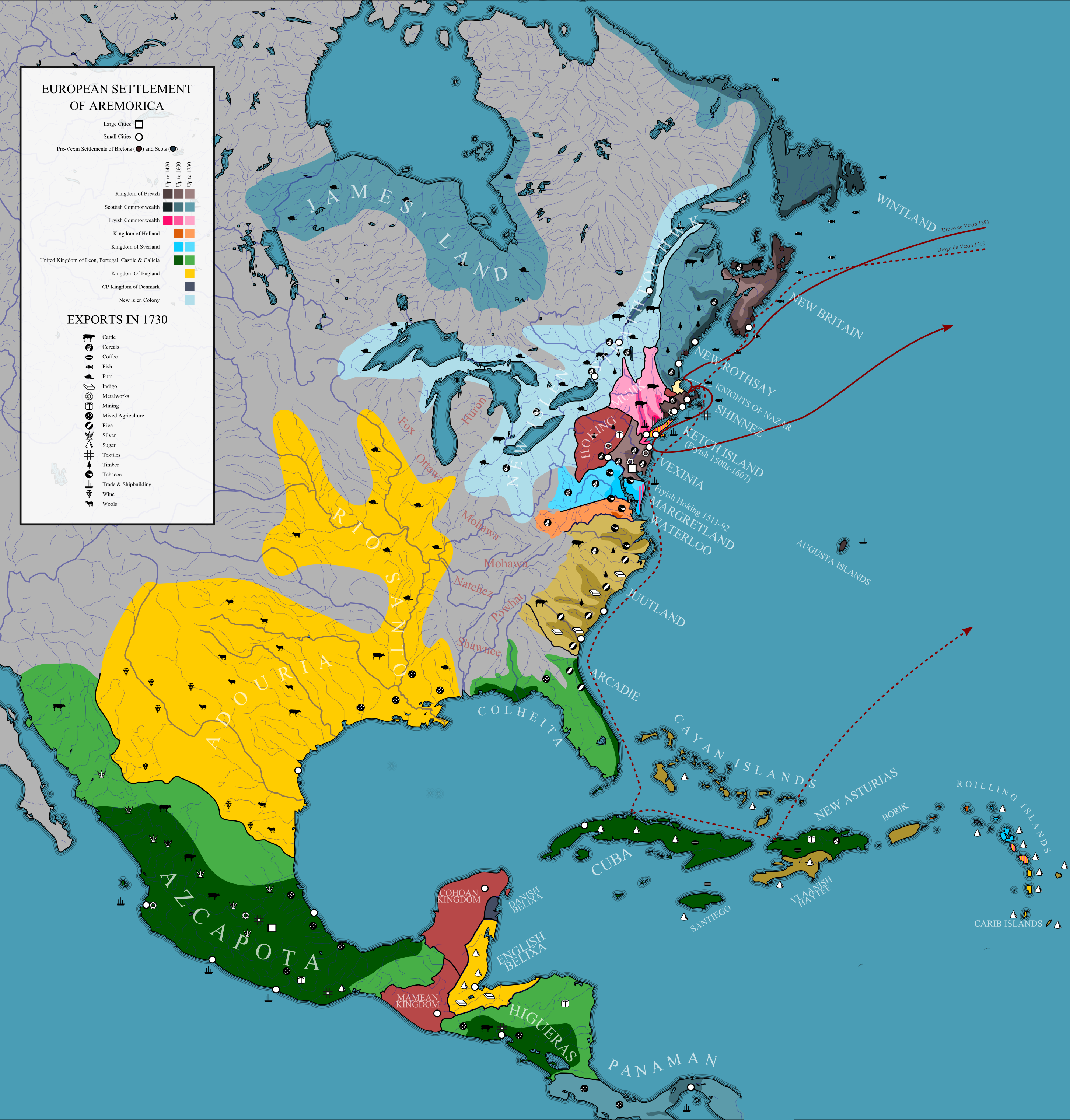 North America Europe Map - Interactive map exploration of north america