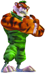 Character review: Radical Entertainment Tiny Tiger