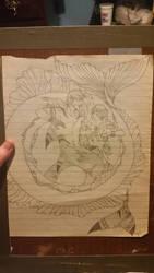 Mermaid  Merman Sketch