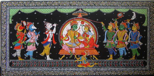 Rama's  coronation by minkz10