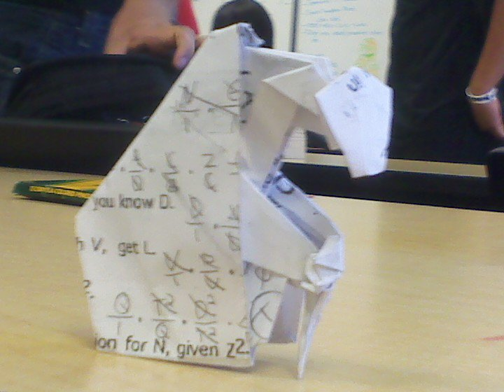 Origami Master Oogway By Vaxlintheorigamist On Deviantart