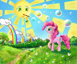 How Pinkie see a wold around us)