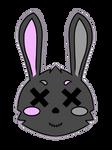 Ibispaint Bunny - Symmetry Doodle by BlueRoseDemon13