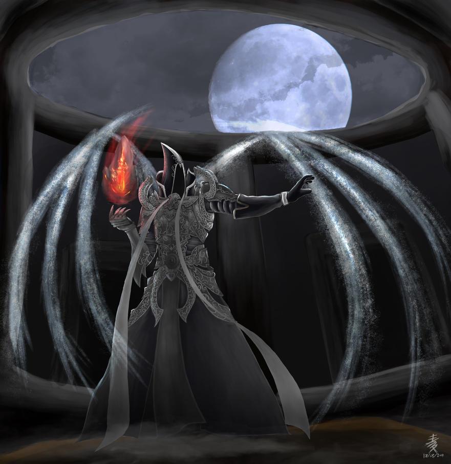 Diablo 3 Fanart - Malthael by RMugi