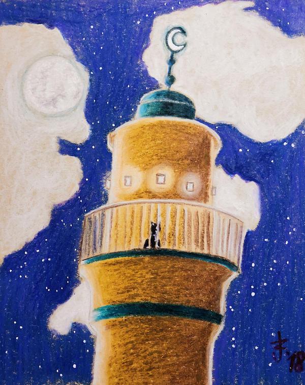 a night in the minaret by syksynsketsi