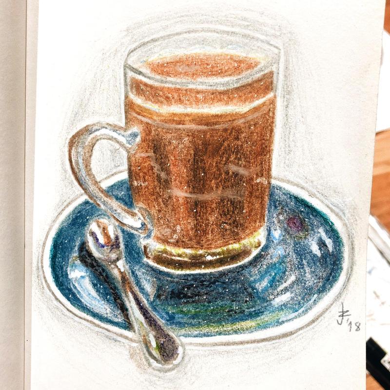 pencil study by syksynsketsi