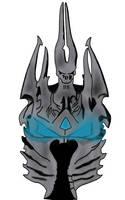 Lich helm concept by ZombieMadAss
