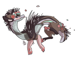 REAUCTION #288 Magical Terradragon-Flower Hedgehog by Kirwicked