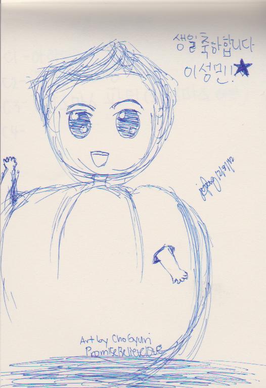 Chibi Pumpkin Sungmin by Prom15e13elieve10ve