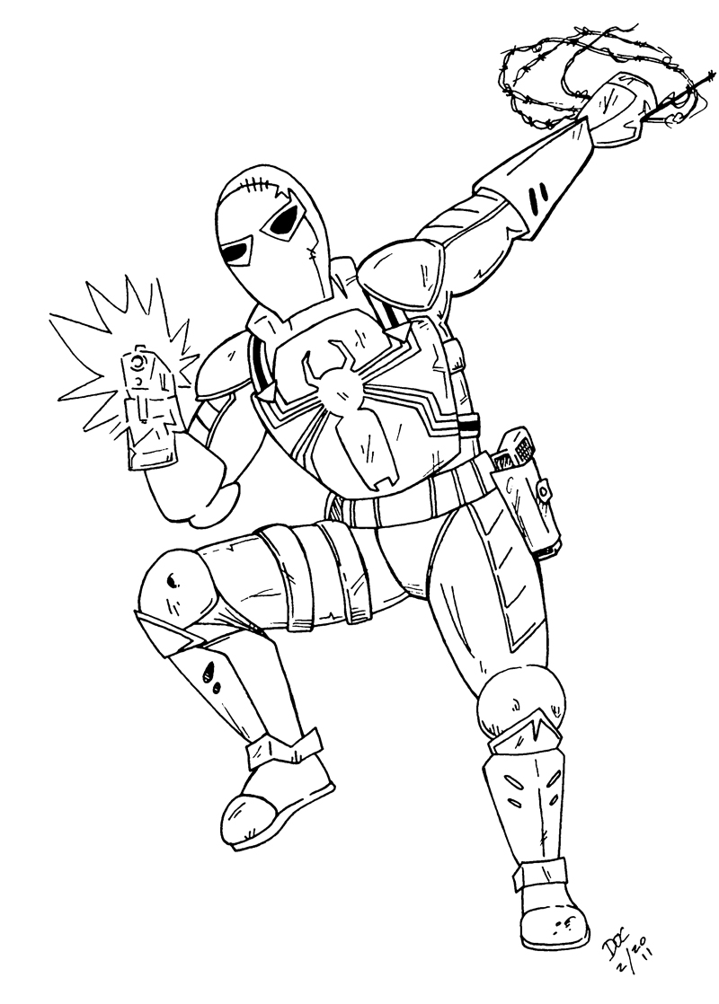 Black ops 2 coloring coloring pages for Black ops coloring pages