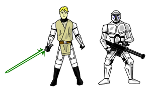 Faces of the Clone Wars