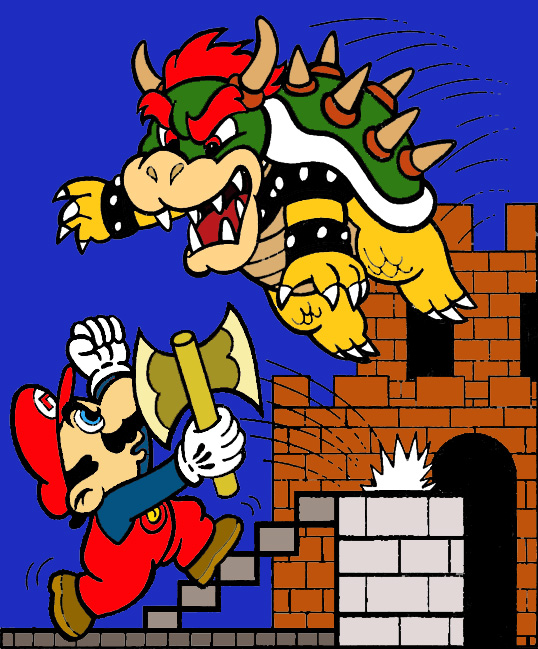 Super Mario Bros. Coloring by LBDNytetrayn on DeviantArt
