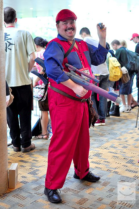 Mario Movie Cosplay - Otakon 2013 by LBDNytetrayn