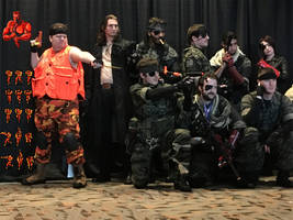 Lt. Solid Snake - Otakon 2016 Cosplay