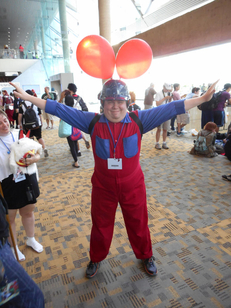 Balloon Fighter - Otakon 2015 Cosplay by LBDNytetrayn