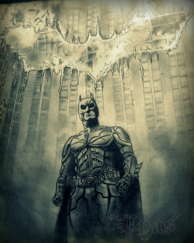 the dark knight by BhavikVyas