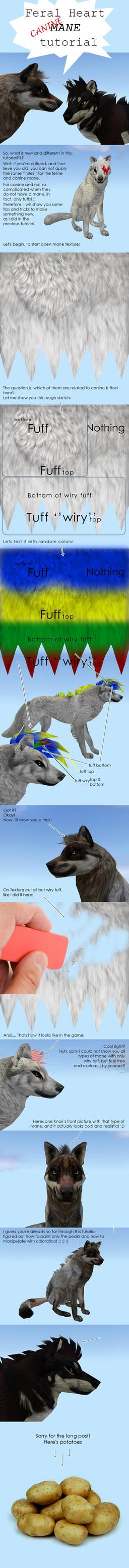 FeralHeart MANE tricks tutorial! Canine part!