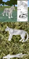 Feline texture for Feralheart