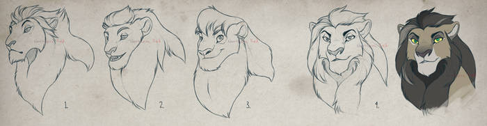 LION headshot design (CLOSED) by NorthernRed